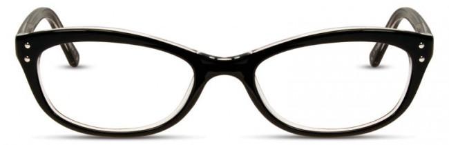 Cinzia Black CB-16 Eyeglasses Frames | Theyedoctor.com