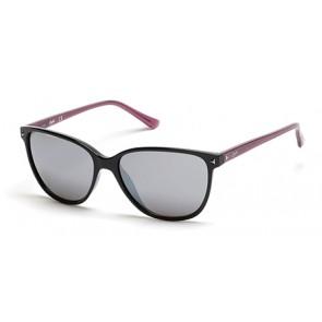Candies Ca1016 Sunglasses-01C-Shiny Black-Smoke Mirror