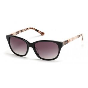 Candies Ca1019 Sunglasses-01B-Shiny Black-Gradient Smoke