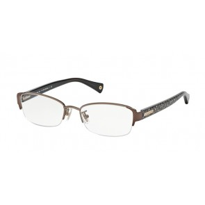 Coach 0HC5053 - Eulalia Eyeglasses Sand/Beige Ocelot Sig C-9182