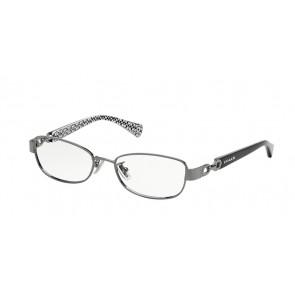 Coach 0HC5054 - Faina Eyeglasses Dark Silver/Black White Sig C-9186