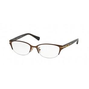 Coach 0HC5058 - Jackie Eyeglasses Satin Dark Brown/Dark Tortoise-9199