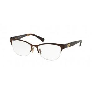 Coach 0HC5066 Eyeglasses Satin Brown/Dark Tortoise-9155