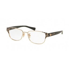 Coach 0HC5079 Eyeglasses Wild Beast Lt Gold/Black-9256