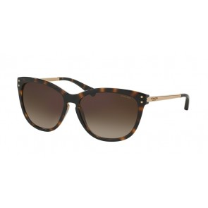 Coach 0HC8084 - L072 Celia Sunglasses Dark Tortoise/Gold