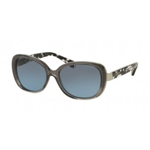 Coach 0HC8172 - L153 Sunglasses Dk Gry Crys/Blk Crystal Mosaic-536817