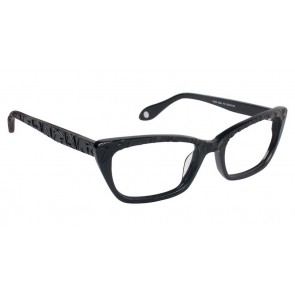 Fysh 3532 Eyeglasses-Black