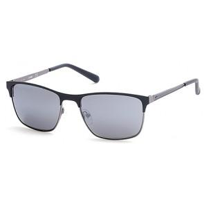Guess Gu6878 Sunglasses-02C-Matte Black-Smoke Mirror