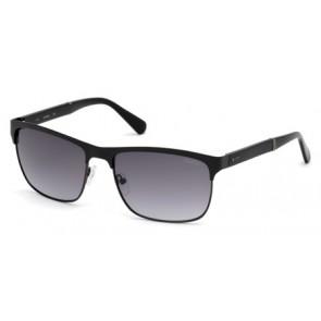 Guess Gu6892 Sunglasses-02B-Matte Black-Gradient Smoke