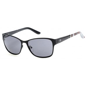 Harley Davidson HD0301X Sunglasses 02A - Matte Black / Smoke