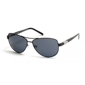 Harley Davidson HD0304X Sunglasses 02A - Matte Black / Smoke