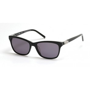 Harley Davidson HD0305X Sunglasses - 01A - Shiny Black / Smoke