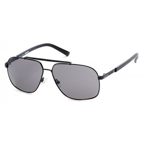 Harley Davidson HD0906X Sunglasses 01A - Shiny Black / Smoke