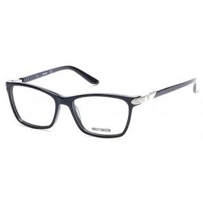 Harley Davidson HD0531 Eyeglasses - 001 - Shiny Black