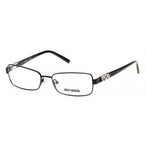 Harley Davidson HD0536 Eyeglasses-002-Matte Black