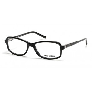 Harley Davidson HD0537 Eyeglasses-001-Shiny Black
