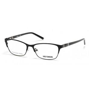Harley Davidson HD0538 Eyeglasses-002-Matte Black