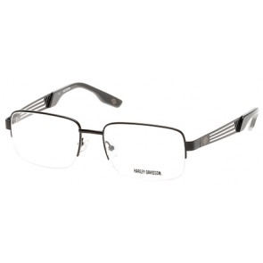 Harley Davidson HD0724 Eyeglasses - 002 Matte Black