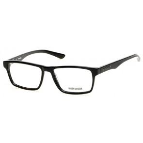 Harley Davidson HD0727 Eyeglasses - 001 Shiny Black