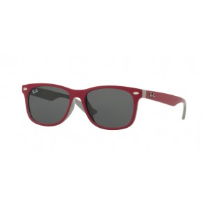 Ray-Ban 0Rj9052Sf Sunglasses-Top Red Fuxia On Gray-177/87