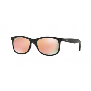Ray-Ban 0Rj9062S Sunglasses-Matte Black On Black-70132Y