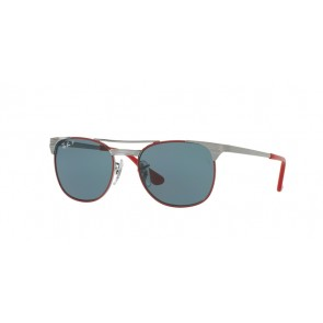 Ray-Ban 0Rj9540S Sunglasses-Gunmetal Top Red-218/2V