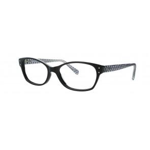Sirene Eyeglasses-Black-100