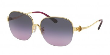 Coach 0HC7068 - L1609 Sunglasses Light Gold/Violet-929090