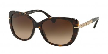 Coach 0HC8131F - L552 Sunglasses Dark Tortoise/Light Gold-528113