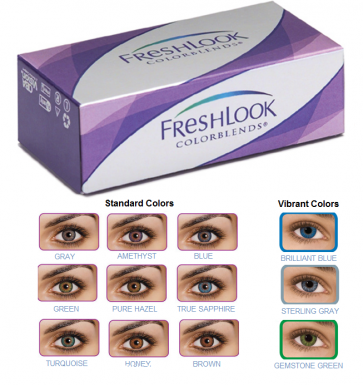 Fresh Look Color Blends Contact Lenses
