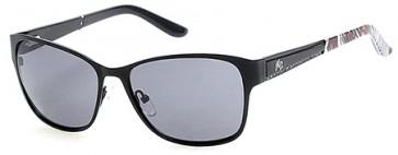 Harley Davidson HD0301X Sunglasses 02A - Matte Black / Smoke