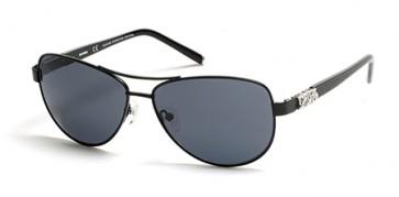 Harley Davidson HD0304X Sunglasses 02A - Matte Black / Smoke