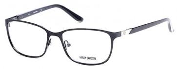Marcolin Harley Davidson HD0530 Eyeglasses - 002 - Matte Black