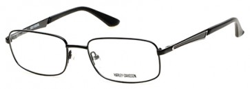 Harley Davidson HD0728 Eyeglasses - 002 Matte Black