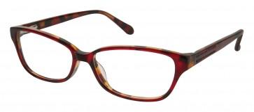 Lulu Guinness L909 Eyeglasses-Red Tortoise