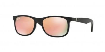 Ray-Ban 0Rj9062S Sunglasses-Matte Black On Black-70132Y