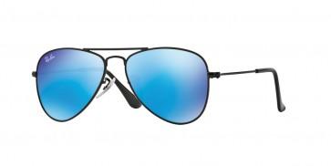 Ray-Ban 0Rj9506S Sunglasses-Matte Black-201/55