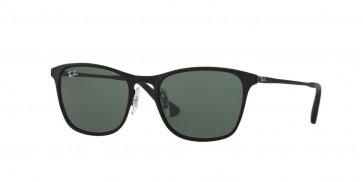 Ray-Ban 0Rj9539S Sunglasses-Rubber Silver-Black-251/71
