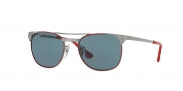 Ray-Ban 0Rj9540S Sunglasses-Gunmetal Top Red-218/2V
