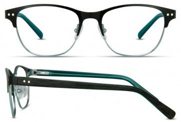 Scott Harris Sh302 Eyeglasses-Black-Teal