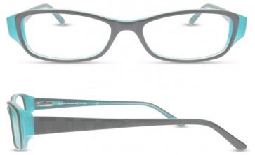Scott Harris Sh306 Eyeglasses-Black-Teal