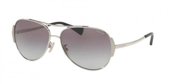 4f5b103e72caf Coach 0HC7067 - L1590 Sunglasses Silver Black-901511