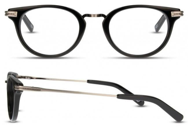 a343dfba22b Scott Harris Sh-Vin-22 Eyeglasses-Black-Gunmetal