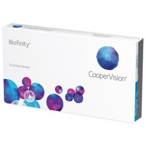 Cooper Vision Biofinity Contact Lenses