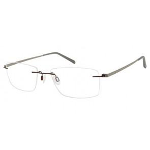 Charmant Ti10972 Eyeglasses-Burgundy