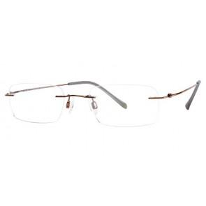 Charmant Ti8333E Eyeglasses-Brown