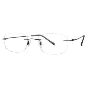 Charmant Ti8334E Eyeglasses-Black