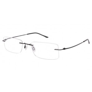 Charmant Ti8600(Chassis Only) Eyeglasses-Black