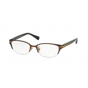 Coach 0HC5058 - Jackie Eyeglasses Satin Dark Brown/Dark Tortoise-9199