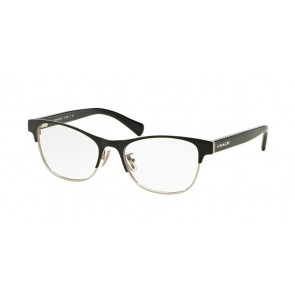 Coach 0HC5074 Eyeglasses Satin Black Silver/Black-9239